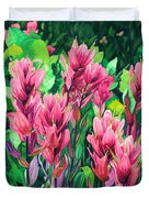 Mountain Meadows' Paintbrush Duvet Cover