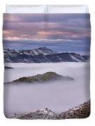 Mountain Moods Duvet Cover