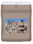 Mountain Of Boulders Duvet Cover