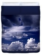 Mountain Of Clouds Duvet Cover