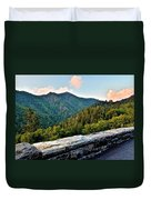 Mountain Overlook Duvet Cover