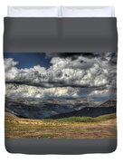 Mountain Panorama Duvet Cover
