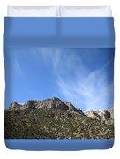 Mountain Range - Wyoming Duvet Cover