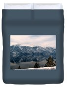 Mountain Reflections Duvet Cover