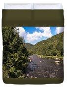 Mountain River Duvet Cover