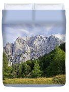 Mountain Scene Duvet Cover