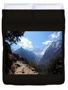 Mountain Scene  Duvet Cover