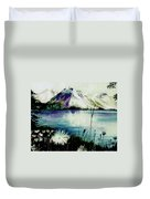 Mountain Serenity Duvet Cover