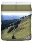 Mountain Slope Duvet Cover