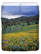 Mountain Spring Duvet Cover