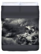 Mountain Storm Banff Duvet Cover