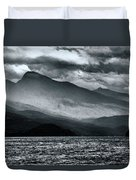 Mountain Storm Clouds Duvet Cover