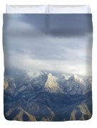 Mountain Storm Duvet Cover