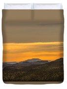 Mountain Sunrise 6-19-14 Duvet Cover