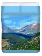 Mountain Top Color Duvet Cover