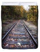 Mountain Tracks Duvet Cover