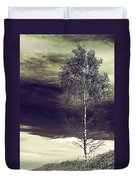 Mountain Tree Duvet Cover