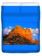 Mountain View Sedona Arizona Duvet Cover