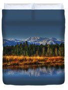 Mountain Vista Duvet Cover by Randy Hall
