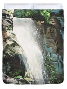 Mountain Waterfall Duvet Cover
