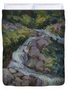 Mountain Waterfall Duvet Cover