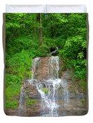 Mountain Waterfall II Duvet Cover