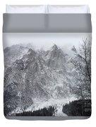 Mountains Of Austria Duvet Cover