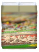 Mountains Of The Mind Duvet Cover