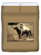 Mounted Shooting Duvet Cover