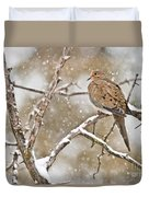 Mourning Dove Pictures 68 Duvet Cover