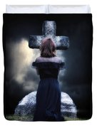 Mourning Duvet Cover by Joana Kruse