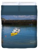 Mousehole Cornwall Duvet Cover