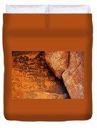 Mouse's Tank Petroglyph Canyon Duvet Cover