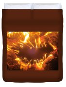 Mouth In The Flame Duvet Cover