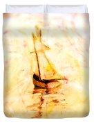 Move With The Waves Duvet Cover