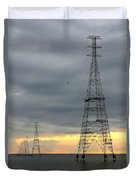 Moving Power Duvet Cover
