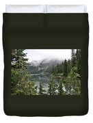 Mowich Lake Duvet Cover
