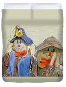 Mr And Mrs Scarecrow Duvet Cover