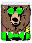 Mr Bear Duvet Cover