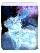 Mr. Blue Bunny Duvet Cover
