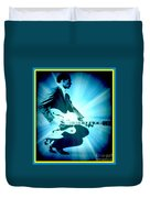 Mr Chuck Berry Blueberry Hill Style Edited 2 Duvet Cover