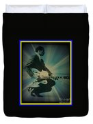 Mr. Chuck Berry Blueberry Hill Style Duvet Cover