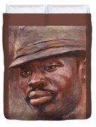 Mr Cool Hat Duvet Cover