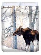 Mr. Moose Duvet Cover