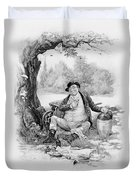 Mr Pickwick, From Charles Dickens A Duvet Cover