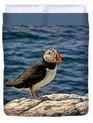 Mr. Puffin Duvet Cover
