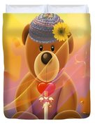 Mr. Teddy Bear Duvet Cover