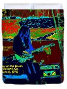 Mrdog # 71 Psychedelically Enhanced W/text Duvet Cover