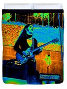 Mrdog #24 In Cosmicolors Crop 2 Duvet Cover