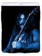 Mrmt #1 In Blue Duvet Cover